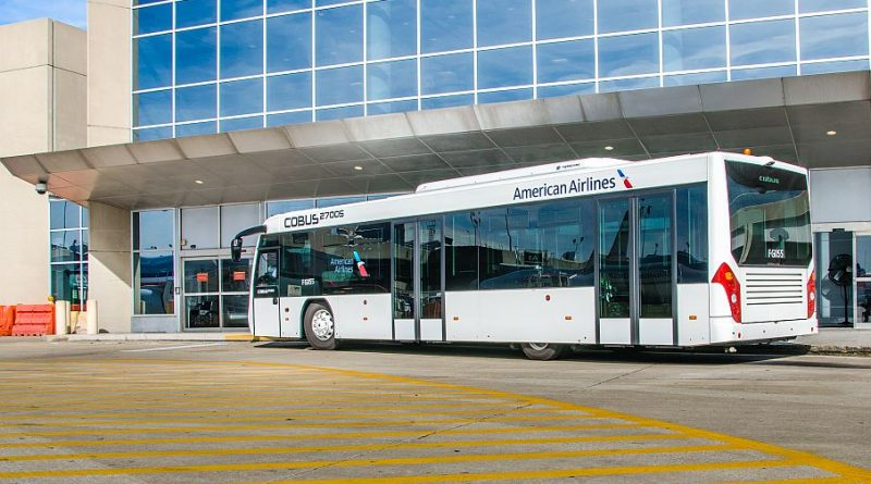 American Airlines New Bus Service At O Hare For Passengers