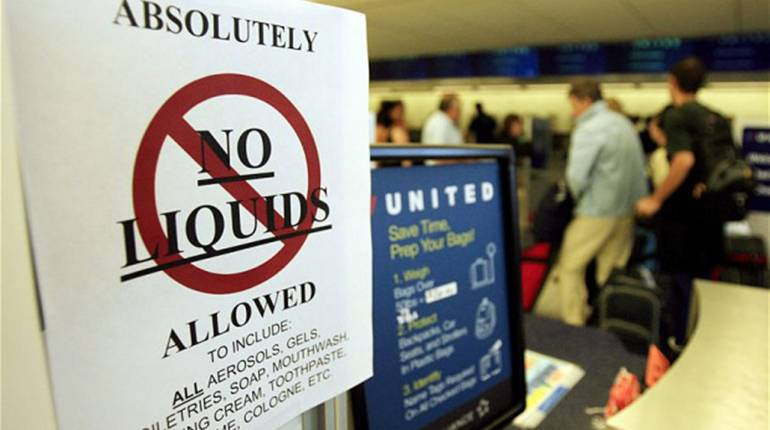 Restricted items on planes