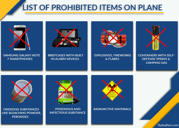 lufthansa prohibited items