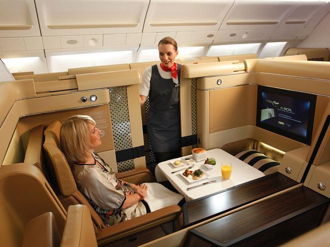 New First Class Suites Details Qantas Emirates Singapore Airlines