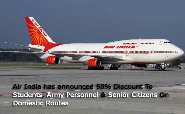Air Travel Discounts India
