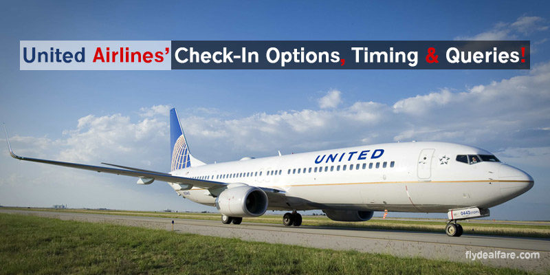united check in