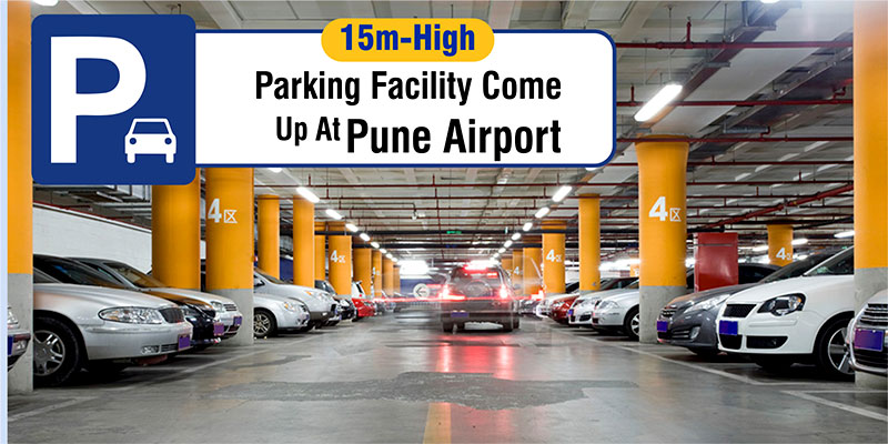 Midway Airport Parking >> Multi-Storeyed Parking At Pune International Airport