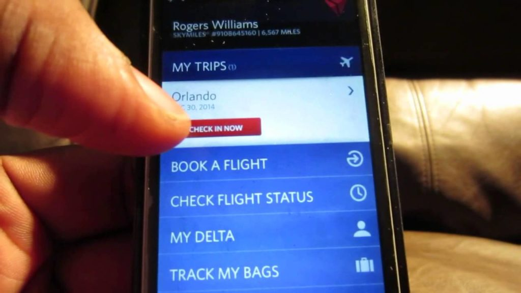 delta Mobile Check-in