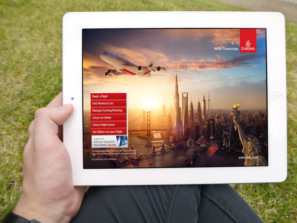 emirates online ceck in