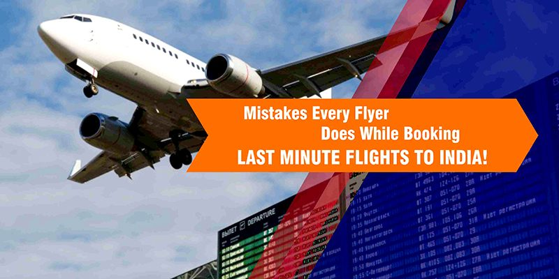 last minute flight deals india