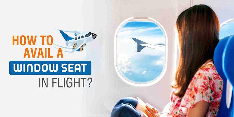 WINDOW SEAT IN FLIGHT