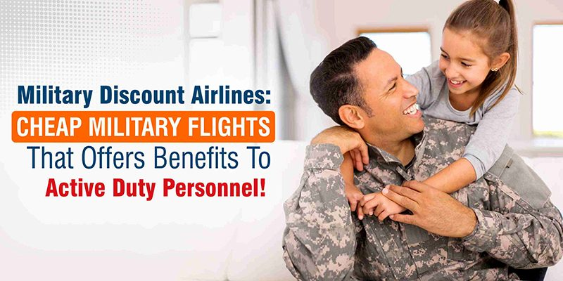 how to get discount on flights military